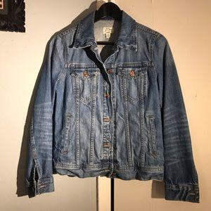 🆕 JCrew denim jacket NWOT
